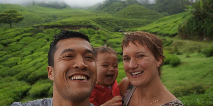 Interview: Wilbert und Sophie bereisen die Welt mit ihren beiden Kindern