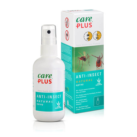 Care Plus Insektenschutz Natural Zitronen - Eukalyptus Spray 100 ml