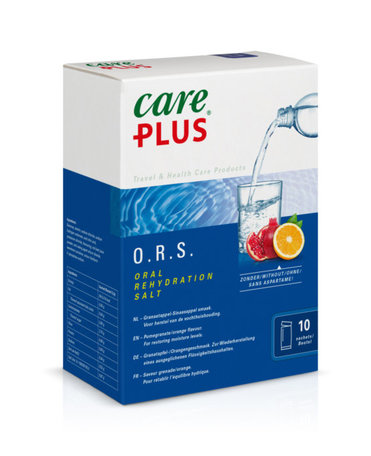 Care Plus O.R.S. Elektrolyte - Granatapfel / Orangengeschmack