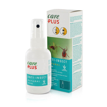 Care Plus Insektenschutz Natural Zitronen - Eukalyptus Spray 60 ml