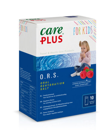 Care Plus O.R.S. Elektrolyte - Kinder - Himbeere