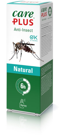 Care Plus Insektenschutz Natural Zitronen - Eukalyptus Spray 60 ml