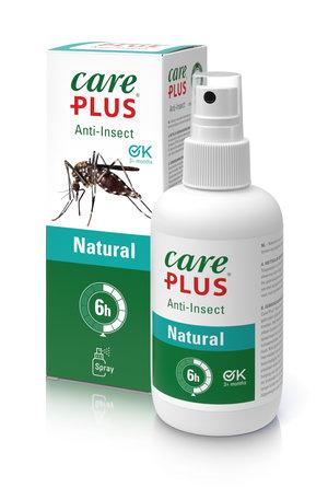 Care Plus Insektenschutz Natural Zitronen - Eukalyptus Spray 200 ml