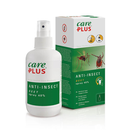 Care Plus Insektenschutz Deet 40% Spray 200 ml
