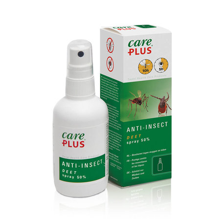 Care Plus Insektenschutz Deet 50% Spray 60 ml