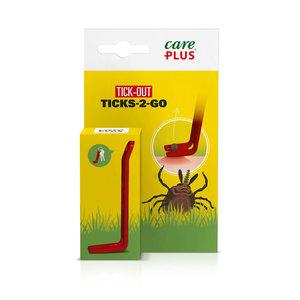 Care Plus Zeckenzange - Ticks-2-Go